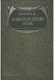 A balatoni utazás vége - Régikönyvek