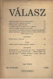 Válasz 1948/július - Régikönyvek