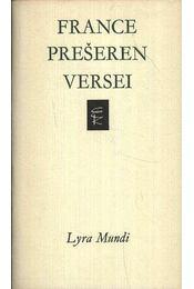 France Pre¹eren versei - Régikönyvek