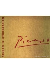 Picasso-Tauben 12 Lithografien - Régikönyvek
