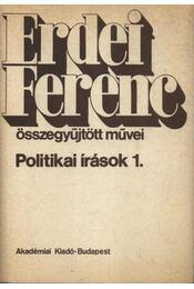 Politikai írások 1. - Régikönyvek