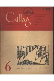 Csillag 6. 1948. május II. évfolyam - Régikönyvek