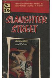 Slaughter street - Régikönyvek