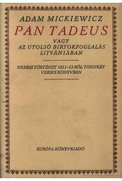 Pan Tadeus - Régikönyvek