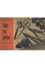 Papír Peti játékai - Régikönyvek