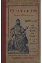Grammaire Cours élémentaire - Régikönyvek