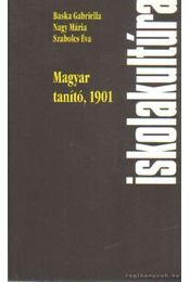 Magyar tanító, 1901 - Régikönyvek