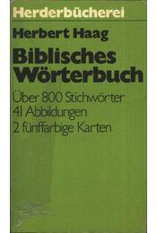 Biblisches Wörterbuch - Régikönyvek