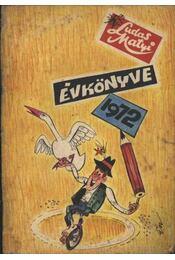 Ludas Matyi Évkönyve 1972. - Régikönyvek