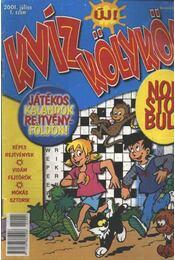 Kviz Kölykök 2001.július 1. szám - Régikönyvek