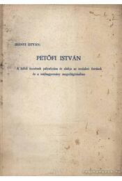 Petőfi István - Régikönyvek