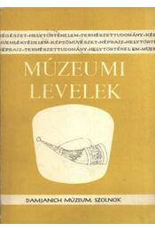 Múzeumi levelek 61-62. sz. - Régikönyvek