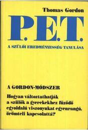 P.E.T. a szülői eredményesség tanulása - Régikönyvek