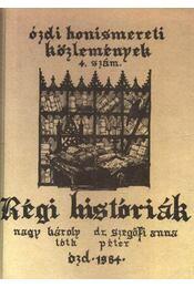 Régi históriák - Régikönyvek