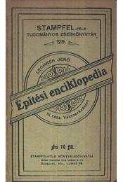 Építési encilkopédia - Régikönyvek