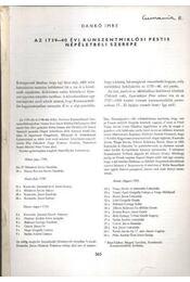 Az 1739-40 évi Kunszentmiklósi pestis népéletbeli szerepe - Régikönyvek