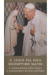 II. JÁnos Pál pápa - Régikönyvek