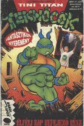 Tini Titán Teknőcök 1994/1. január-február 27. szám - Régikönyvek