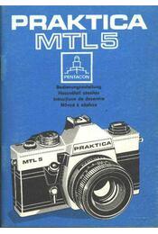 Praktica MTL5 - Régikönyvek