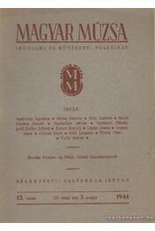 Magyar Múzsa 1944. 13. szám - Régikönyvek