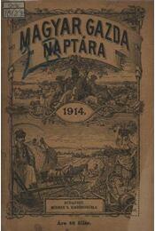 Magyar gazda naptára 1914. - Régikönyvek