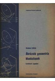 Ábárzoló geometria munkalapok - Régikönyvek
