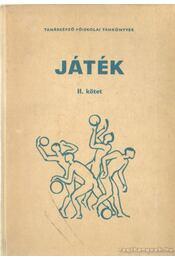 Játék II. kötet - Régikönyvek
