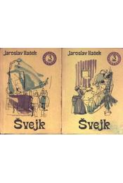 Svejk I-II. kötet - Régikönyvek