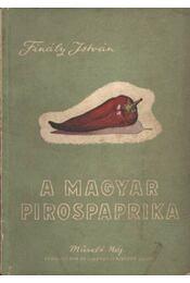 A magyar pirospaprika - Régikönyvek