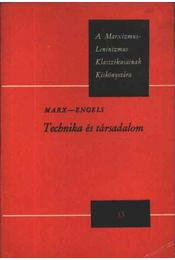 Technika és társadalom - Régikönyvek