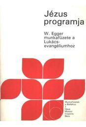 Jézus programja - Régikönyvek