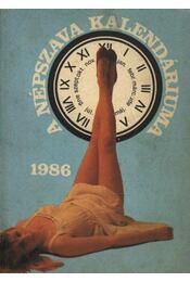 A Népszava kalendáriuma 1986. - Régikönyvek