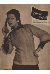 Fürge ujjak 1975. XIX. évfolyam (Teljes) - Régikönyvek