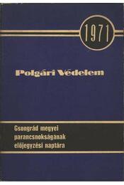 Polgári védelem - Régikönyvek