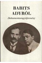 Babits Adyról - Régikönyvek