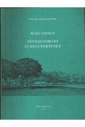Néphagyomány és helytörténet - Régikönyvek