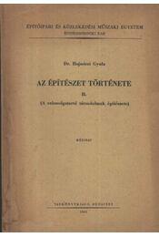 Az építészet története II - Régikönyvek