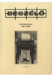 Beszélő 1987-1989 - Régikönyvek