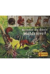 Kennst du diese Waldtiere? - Régikönyvek