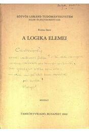 A logika elemei - Régikönyvek