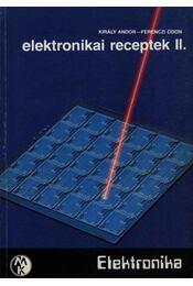 Elektrotechnikai receptek II. - Régikönyvek
