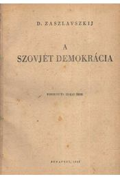 A szovjet demokrácia - Régikönyvek