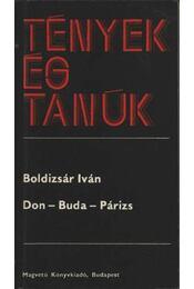 Don-Buda-Párizs - Régikönyvek
