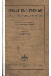 Heimat und fremde - Régikönyvek