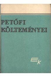 Petőfi Sándor költeményei I-II-III. kötet - Régikönyvek
