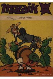 A titok nyitja (Mozaik 1981/9) - Régikönyvek