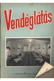 Vendéglátás II. évfolyam 2. szám 1958. április - Régikönyvek