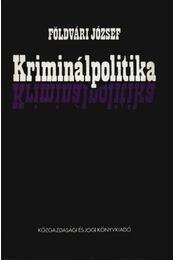 Kriminálpolitika - Régikönyvek
