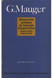 Grammaire pratique de francaise - Régikönyvek