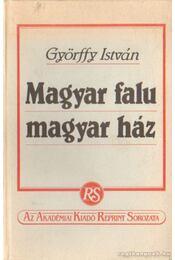 Magyar falu magyar ház - Régikönyvek